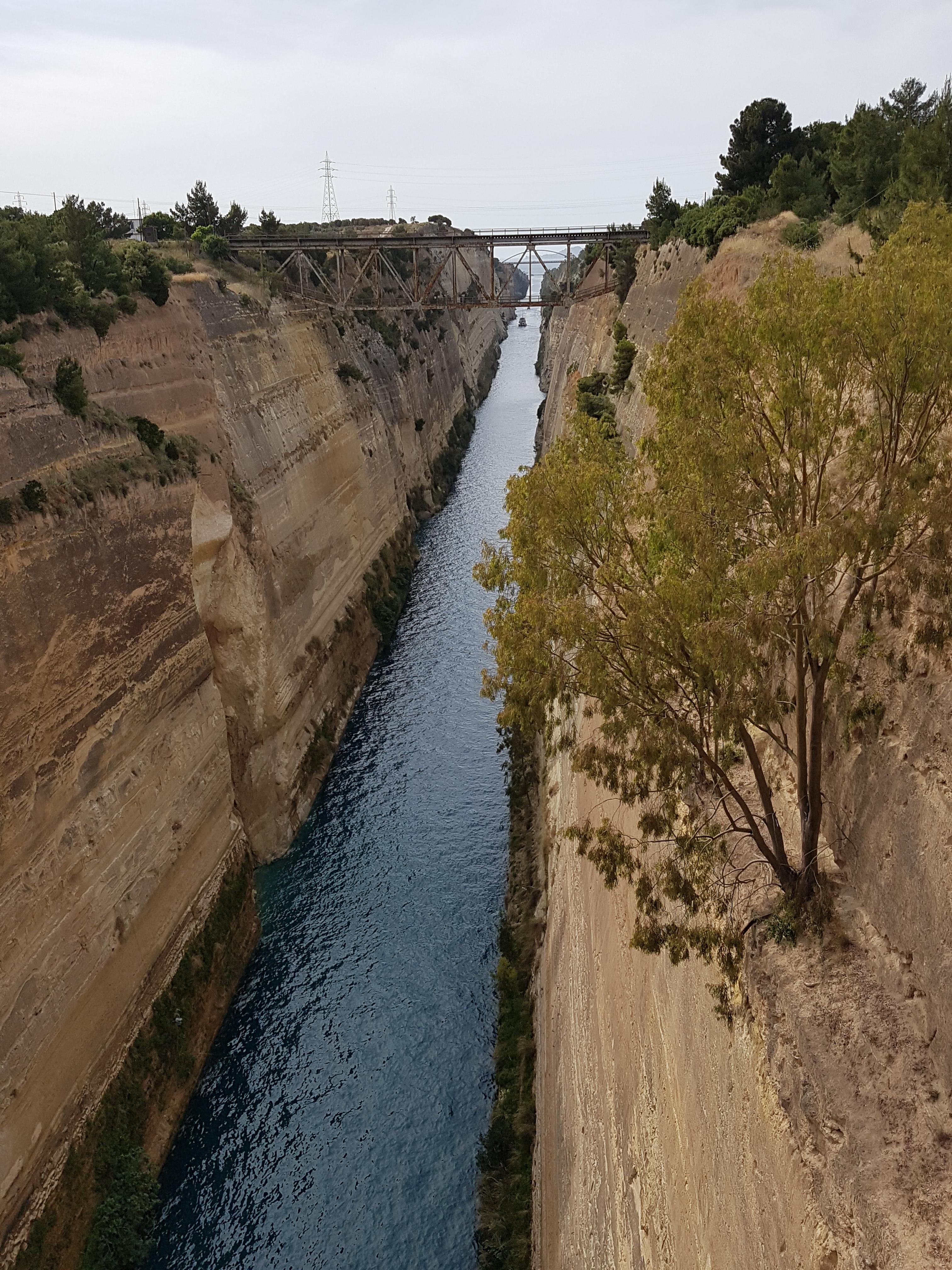 Kanal von Korinth, Griechenland 2019